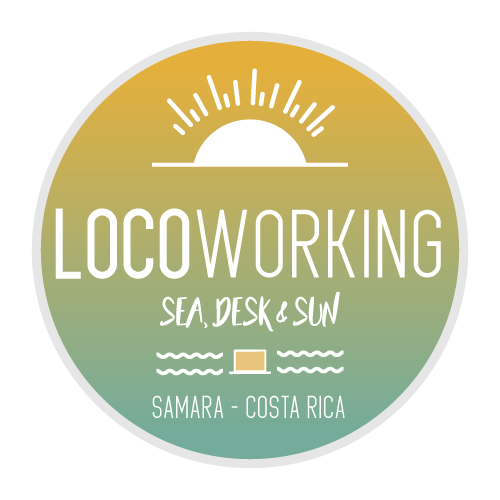 LOGO LOCOWORKING - coworking space in Samara Costa Rica